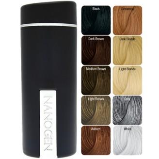 Nanofibres 30 - Камуфляж для ультратонких волос 10 цветов (30 грамм)